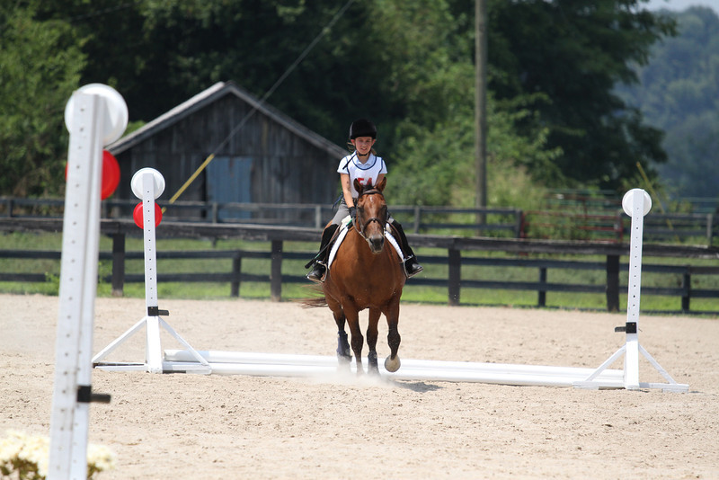 Joe and Catherine Prell at Stone Place Stables Mini Trial 07.31.2011.