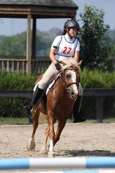Mego Fast Too and Shelby England at Stone Place Stables Mini Trial 07.31.2011.