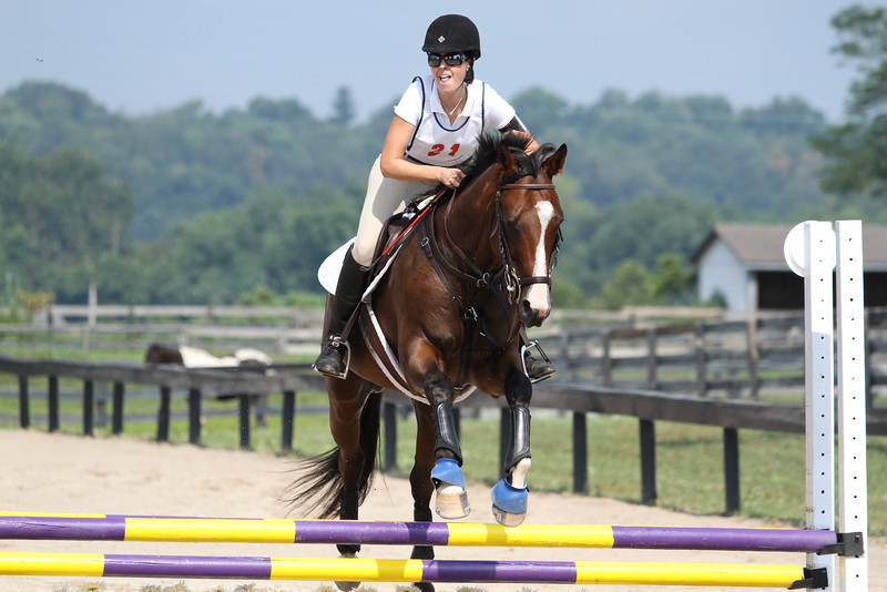 Junior Mint and Lauren Carlisle at Stone Place Stables Mini Trial 07.31.2011.