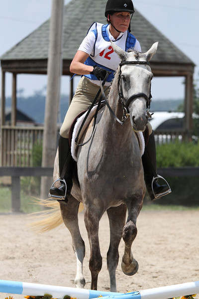 Schalela and Connie Sandusky at Stone Place Stables Mini Trial 07.31.2011.