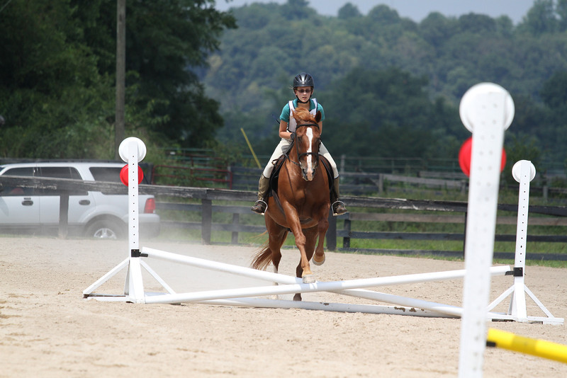 Cash and Hannah Bernamini at Stone Place Stables Mini Trial 07.31.2011.