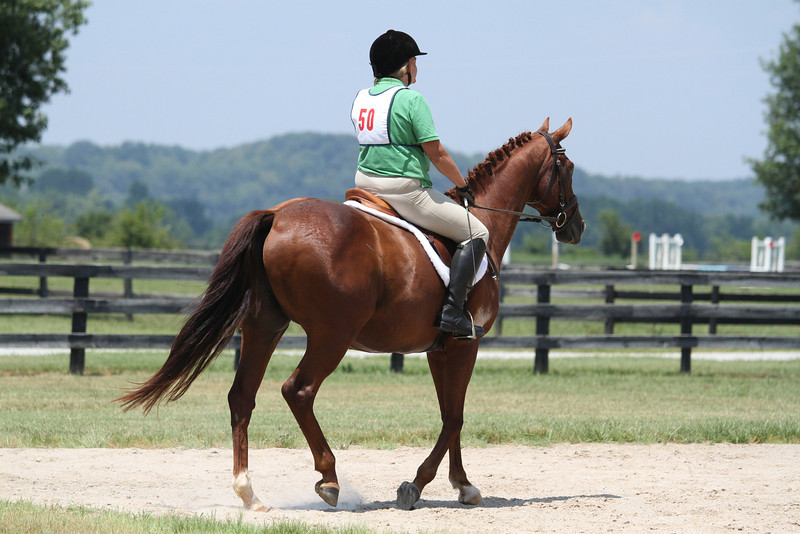 Vince and Barbara Fulbright at Stone Place Stables Mini Trial 07.31.2011.