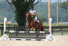 Big Glen and Whitney Drury at Stone Place Stables Mini Trial 07.31.2011.