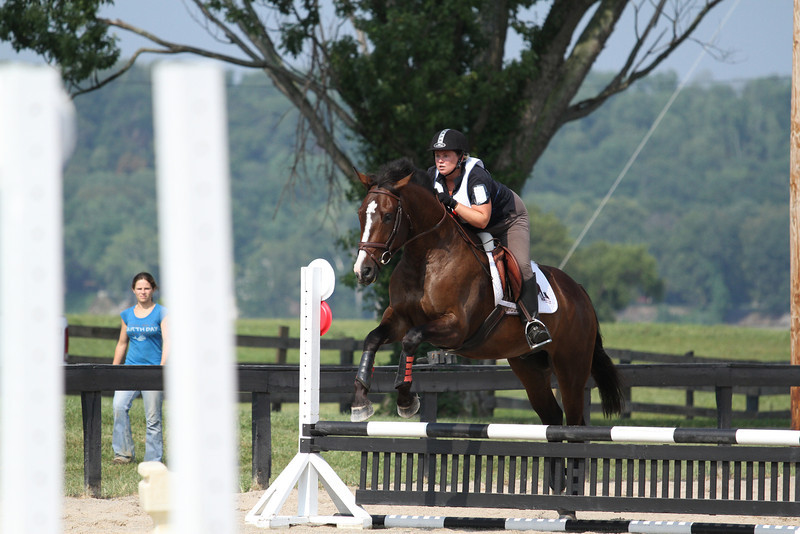 Shiloh with Kristen Young at Stone Place Stables Mini Trial 07.31.2011.