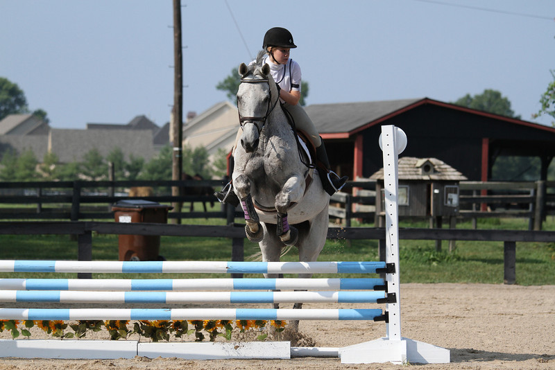 Higgins with Emily Smith at Stone Place Stables Mini Trial 07.31.2011.