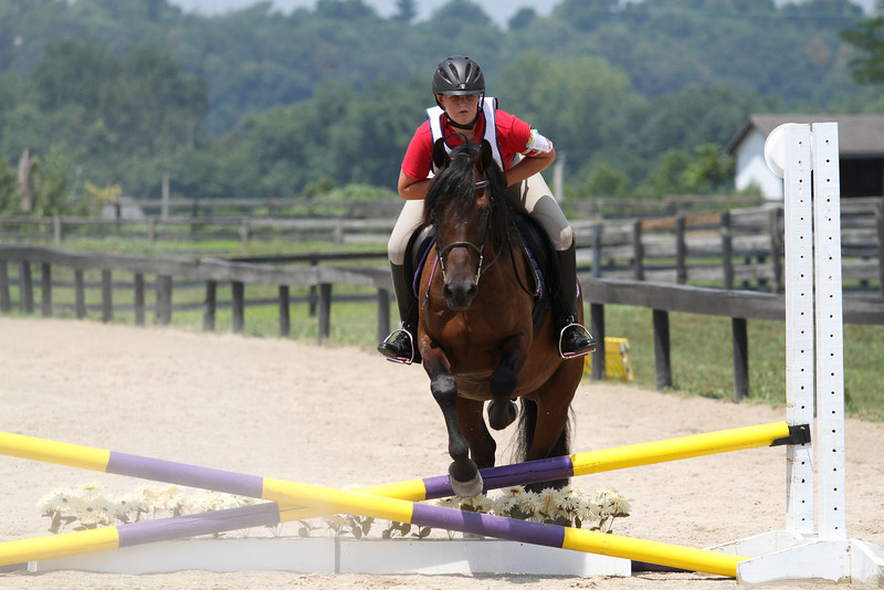 Starbuck and Ali Papp at Stone Place Stables Mini Trial 07.31.2011.