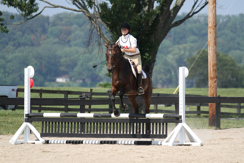 Romeo and Rachel Romberg at Stone Place Stables Mini Trial 07.31.2011.