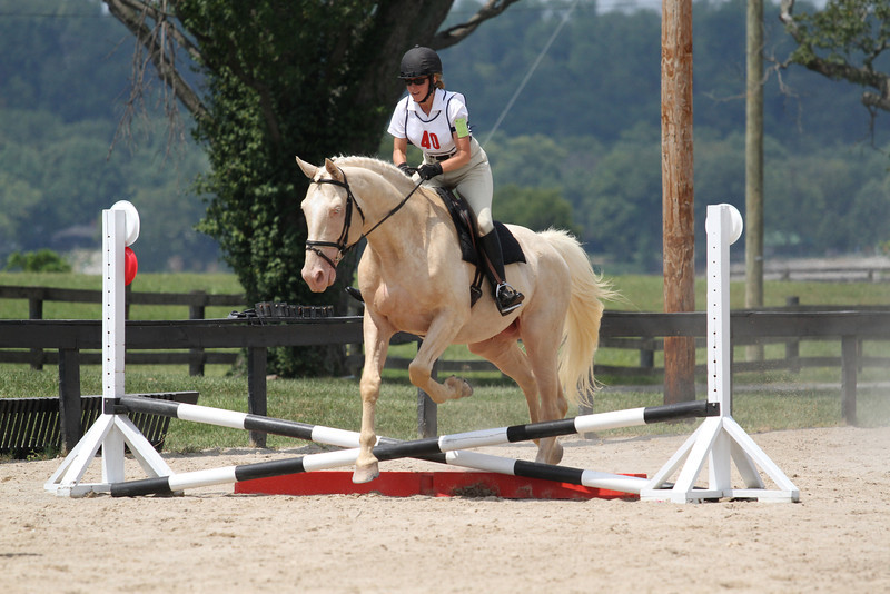Harley and Kim Smith at Stone Place Stables Mini Trial 07.31.2011.