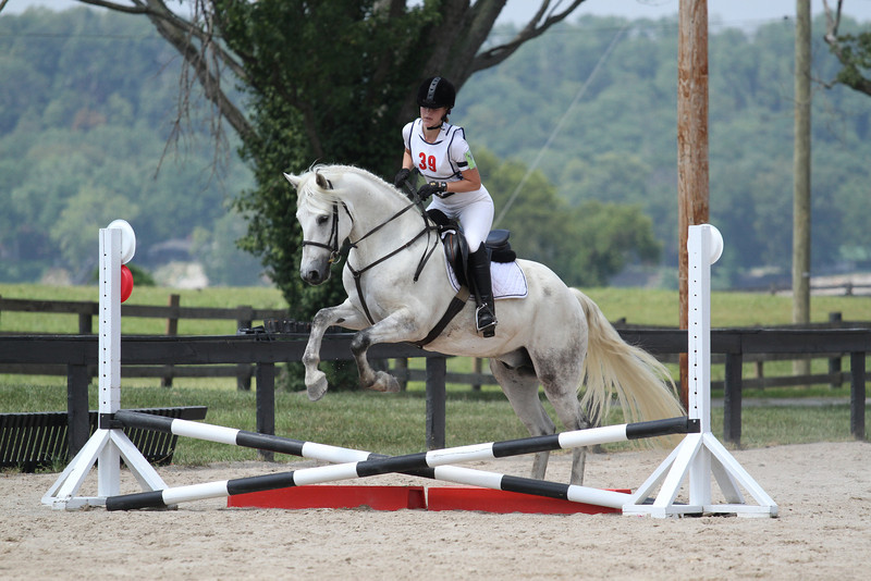 The Devil Himself and Elizabeth McGinley at Stone Place Stables Mini Trial 07.31.2011.