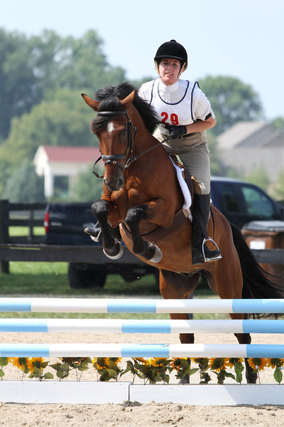 Dragon Fly and Maddie Wattenberg at Stone Place Stables Mini Trial 07.31.2011.