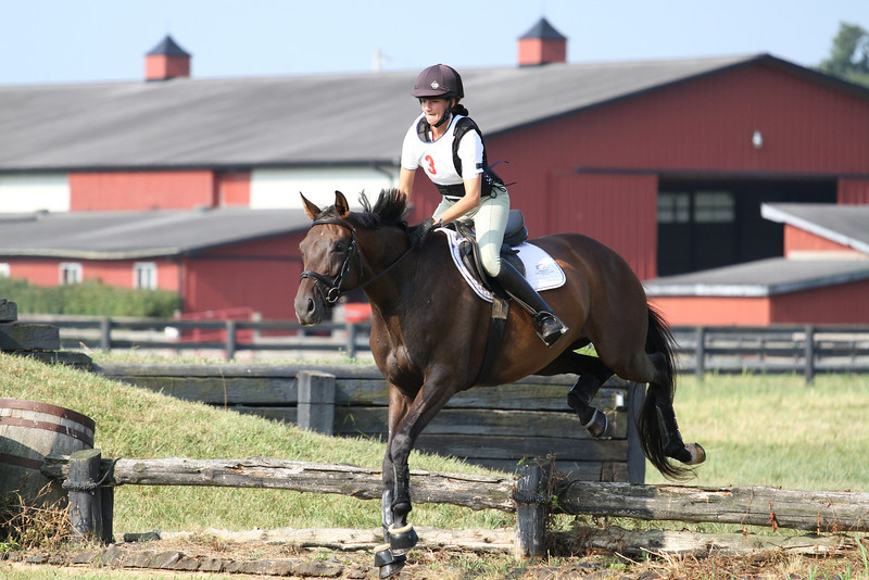 Medallion with Rachel Miles at Stone Place Stables Mini Trial 07.31.2011.