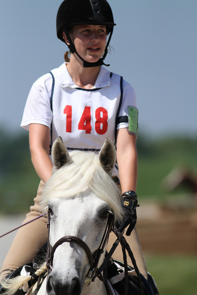 The Devil Himself with Elizabeth McGinley up at The Lands End Farm Mini Horse Trial. 07.10.2011