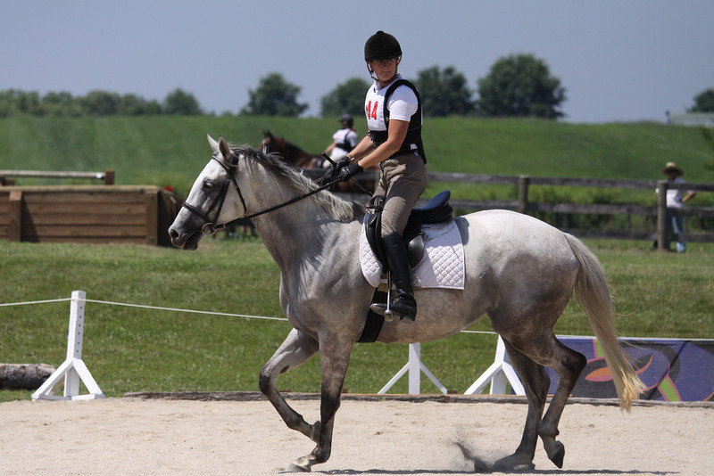 Morticia Darling with Lisa Thomas up at The Lands End Farm Mini Horse Trial. 07.10.2011