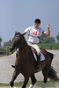 Phantom with Kayla Sellers up at The Lands End Farm Mini Horse Trial. 07.10.2011