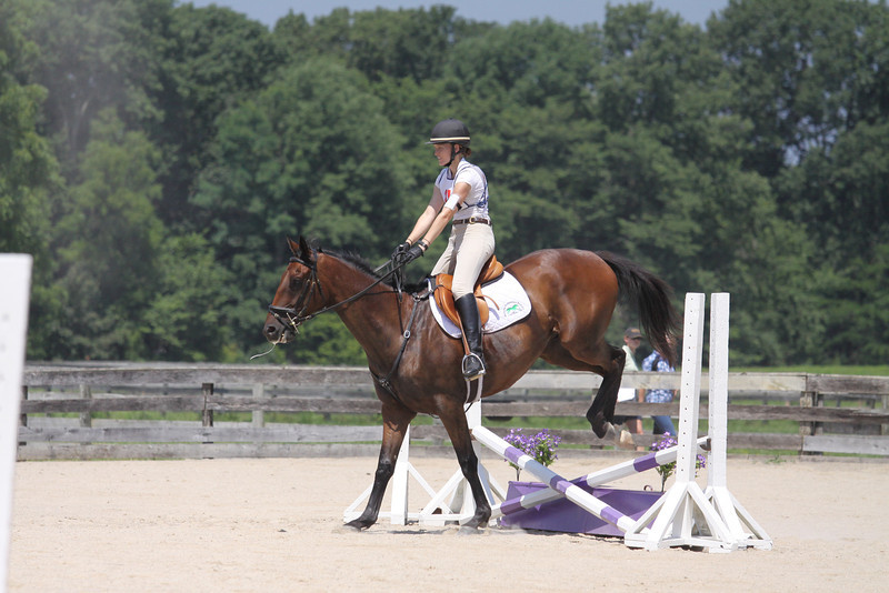 Bethal Park with Hannah Hubsch up at The Lands End Farm Mini Horse Trial. 07.10.2011