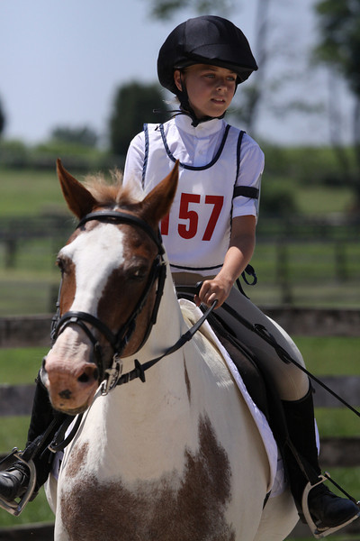 Strawberry Shortcake with Taylor Harer up at The Lands End Farm Mini Horse Trial. 07.10.2011