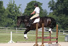 Sagwali with Kathleen Kolgraff up at The Lands End Farm Mini Horse Trial. 07.10.2011
