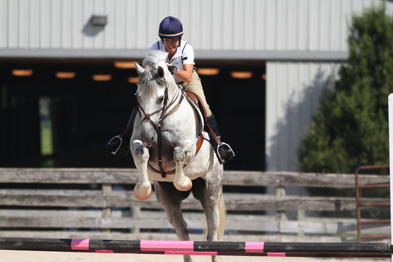 Flying Casanova with Tracy Scott up at The Lands End Farm Mini Horse Trial. 07.10.2011
