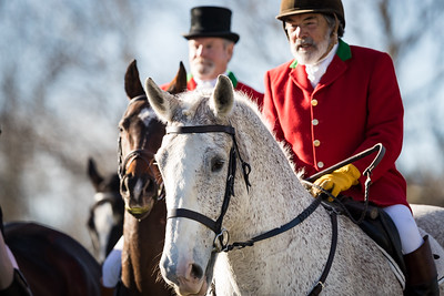The Woodford Hounds Hunt at Shakertown, 11.25.17.