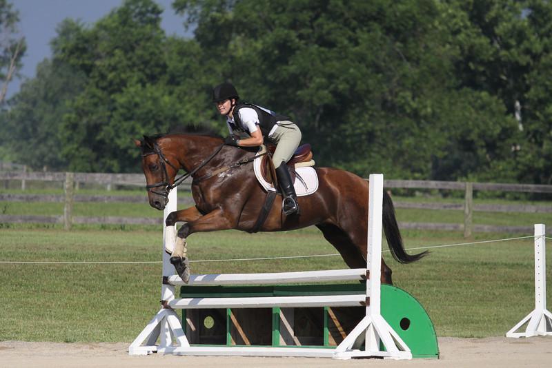 Amigo with Rachel Zoller up at The Lands End Farm Mini Horse Trial. 07.10.2011