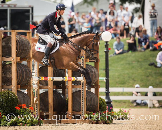 William Fox-Pitt on Parklane Hawk (an OTTB) win the Rolex 3-Day Event at the Kentucky Horse Park