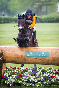 Phillip Dutton and Fernhill Cubalawn in the Cross Country portion of the Rolex 3-Day Event at the Ky. Horse Park 4.30.16.