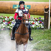 Lisa Marie Fergusson and Honor Me in the Cross Country portion of the Rolex 3-Day Event at the Ky. Horse Park 4.30.16.