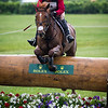 Bruce (Buck) Davidson and Copper Beach in the Cross Country portion of the Rolex 3-Day Event at the Ky. Horse Park 4.30.16.