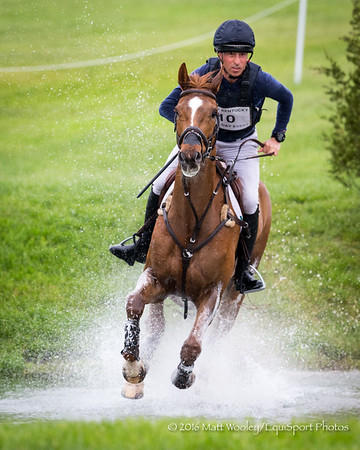 Tim Price and Bango in the Cross Country portion of the Rolex 3-Day Event at the Ky. Horse Park 4.30.16.