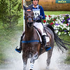 Katherine Coleman and Courage Under Fire in the Cross Country portion of the Rolex 3-Day Event at the Ky. Horse Park 4.30.16.