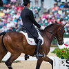 Mark todd and NZB Campino in Dressage for the Rolex 3-Day Event at the Ky. Horse Park 4.29.16.