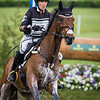 Laine Ashker and Anthony Patch in the Cross Country portion of the Rolex 3-Day Event at the Ky. Horse Park 4.30.16.