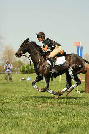 Laine Ashker and Frodo Baggins at Rolex 2008