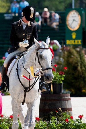 Bettina Hoy with Ringwood Cockato  at the Rolex Kentucky Three Day Event 04.26.2009 in Lexington, Ky. (EquiSport Photos)