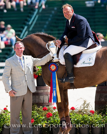 Buck Davidson with My Boy Bobby at the Rolex Kentucky Three Day Event 04.26.2009 in Lexington, Ky. (EquiSport Photos)