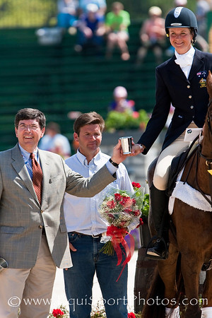 Lucinda Fredericks (Aus), with Headley Britannia and Mayor Newberry at the Rolex Kentucky Three Day Event 04.26.2009 in Lexington, Ky. (EquiSport Photos)