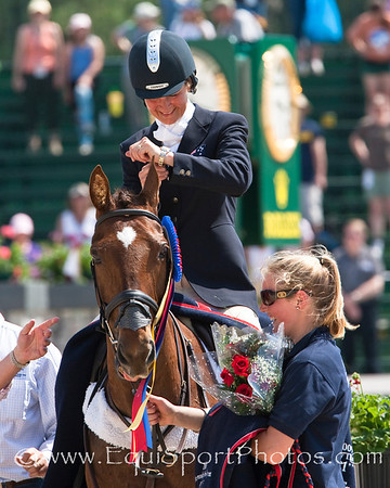 Lucinda Fredericks (Aus), with Headley Britannia, wins the 2009 Rolex 3 Day Event at the Ky. Horse Park 4.26.2009