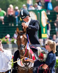 Lucinda Fredericks (Aus), with Headley Britannia at the Rolex Kentucky Three Day Event 04.26.2009 in Lexington, Ky. (EquiSport Photos)