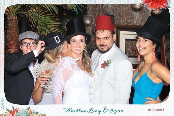 Amália Lucy e Igor