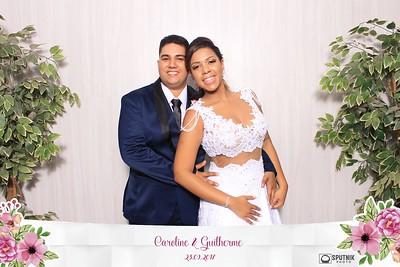 Caroline e Guilherme
