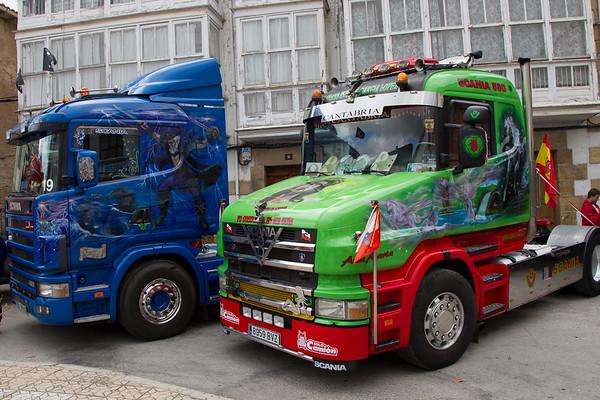 Concentracion de camiones Soncillo 2014 (Burgos)