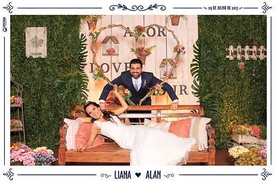 Liana e Alan