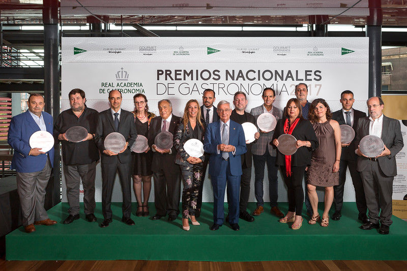 PREMIOS NACIONALES GASTRONOMIA 2017