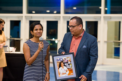 Inspire Magazine - Honoring Swetha Panati at Texas State Aquarium. Wednesday November 9, 2016.