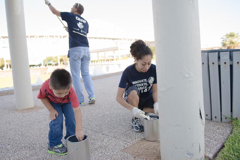10.04.14 - YBP - Water Garden Clean Up Ideas Week