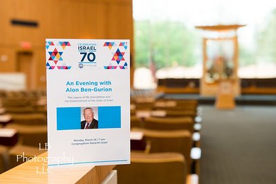 Israel 70th with aAon Ben Gurion