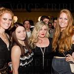 Hannah Hubsch, Lindsey Sower, Hallie Tyler and Morgan Hubsch.