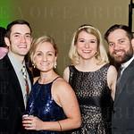 Martin and Braidi Huecker and Jennifer Miller with Brenton Kathman.