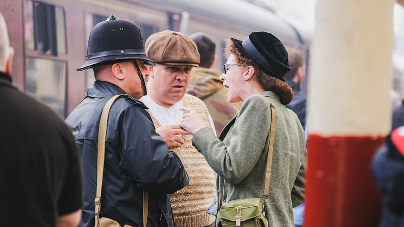 East Lancs 1940's weekend