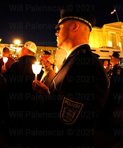 Police Officers from all over the world attend ceremonies of Police week each year
